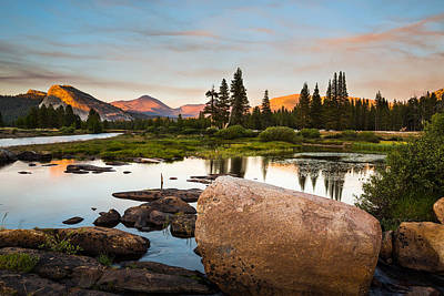 Photograph - Tuolumne Sunset by Mike Lee