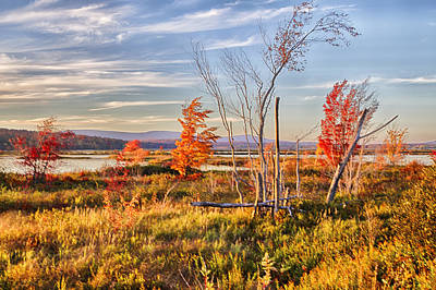 Photograph - Tupper Lake Afternoon Hdr by Jim Dollar