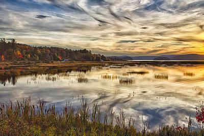 Photograph - Tupper Lake Showreline Hdr 03 by Jim Dollar