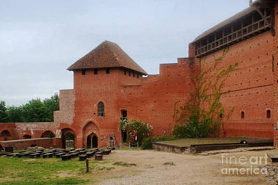 Photograph - Turaida Castle In Sigulda Latvia 1 by Rudi Prott