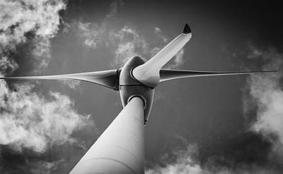 Photograph - Turbine. by Gary Gillette