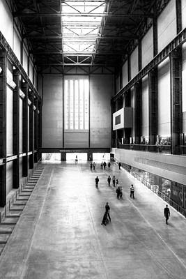 Photograph - Turbine Hall - Tate Modern by Mark E Tisdale