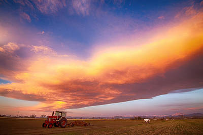 Photograph - Turbo Charged Country Sky by James BO Insogna