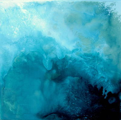 Painting - Turbulence by Mary Kay Holladay