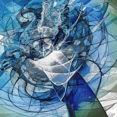 Turbulence Art Print by Reno Graf von Buckenberg