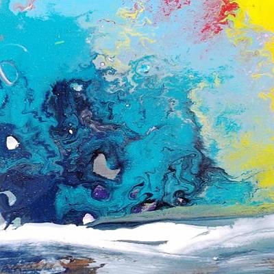 Turbulent 3 Art Print
