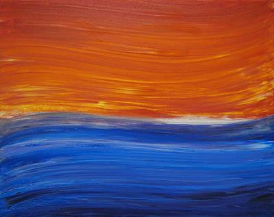 Turbulent Art Print by Drew Shourd