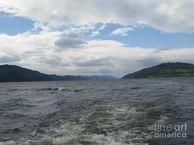 Photograph - Turbulent Waters Of Loch Ness  by Joan-Violet Stretch