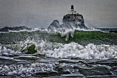 Photograph - Turbulent Waters by Wes and Dotty Weber