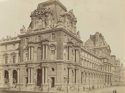 Louvre Drawing - Turgot Pavilion Of The Louvre, Paris, France France by Artokoloro