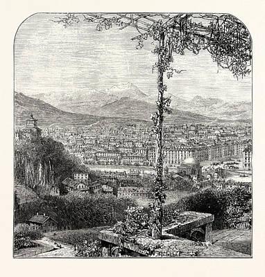 Turin Art Print by English School