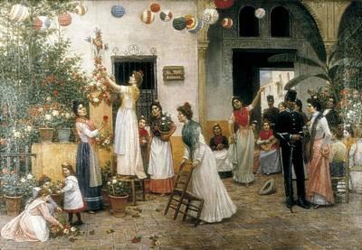 Turina Areal, Joaqu�n 1847-1903. Cruz Art Print by Everett