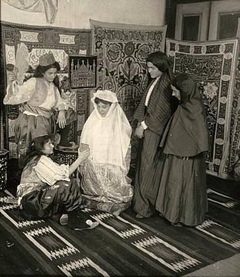Hijab Painting - Turkey Bride, 1914 by Granger