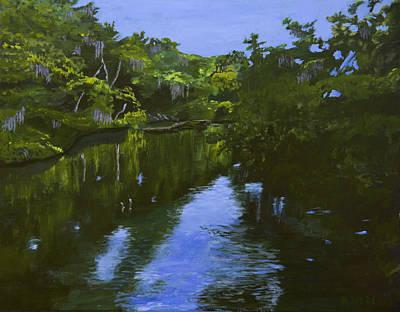 Turkey Creek Print by Roger Wedegis