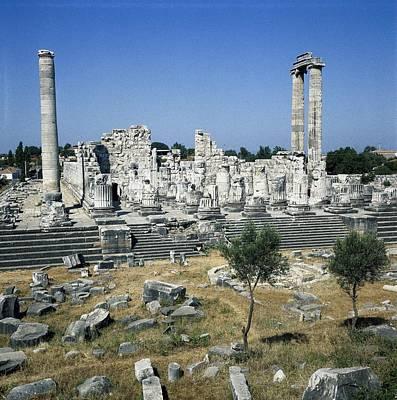 Turkey. Didyma. Temple Of Apollo Art Print by Everett