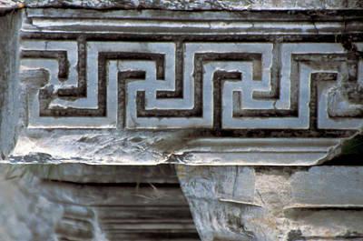 Turkey, Ephesus Classical Greek Key Art Print by Jaynes Gallery