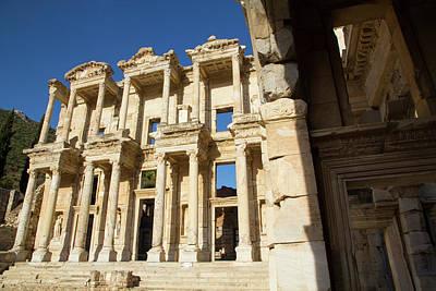 Turkey, Ephesus The Library Of Ephesus Art Print