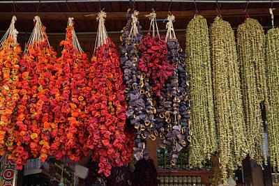 Bazaar Photograph - Turkey, Gaziantep, Medina, Spice Market by Emily Wilson
