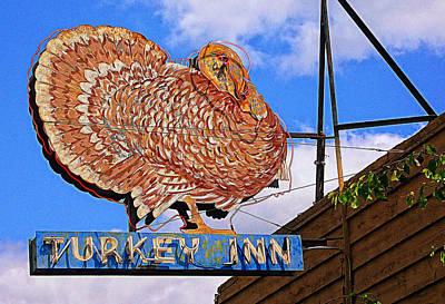 Turkey Digital Art - Turkey Inn by Ron Regalado