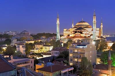 Turkey. Istanbul. Hagia Sophia Basilica Art Print by Everett