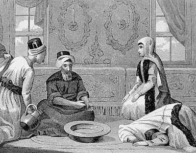 Turkey Ottoman Empire Turkish Noble Art Print