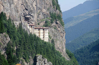 Turkey, Trabzon Sumela Monastery (aka Art Print by Cindy Miller Hopkins