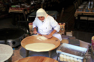 Photograph - Turkish Bread Maker by Haleh Mahbod
