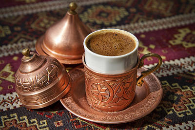 Photograph - Turkish Coffee by For Ninety One Days