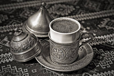 Photograph - Turkish Coffee Istanbul by For Ninety One Days