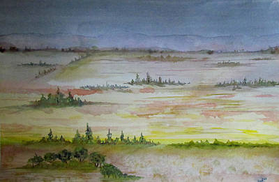 Painting - Turkish Countyside by Susan Duxter