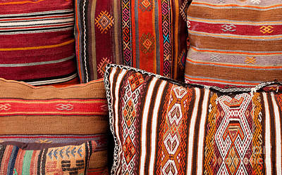 Photograph - Turkish Cushions 01 by Rick Piper Photography