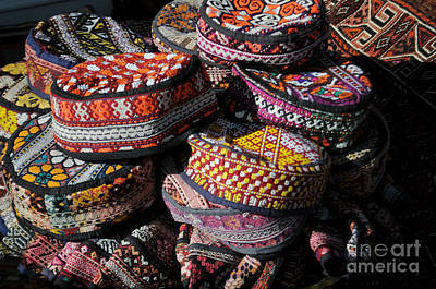 Photograph - Turkish Hats by Haleh Mahbod