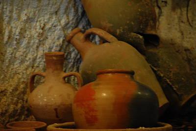 Turkish Pottery Art Print by Jacqueline M Lewis