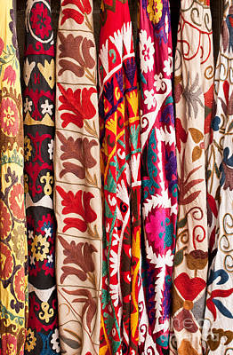 Photograph - Turkish Textiles 02 by Rick Piper Photography