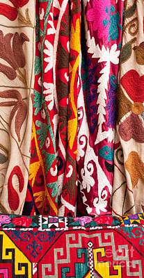 Photograph - Turkish Textiles 04 by Rick Piper Photography