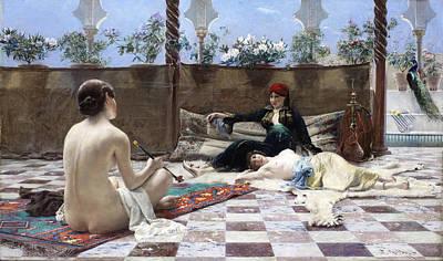 Turkish Painting - Turkish Women by Ferdinand Max Bredt
