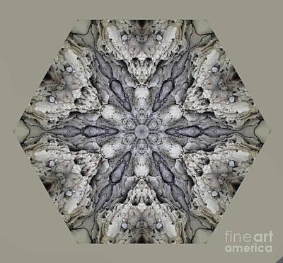 Achieving - Turks Terrain Kaleidoscope by Judy Wolinsky