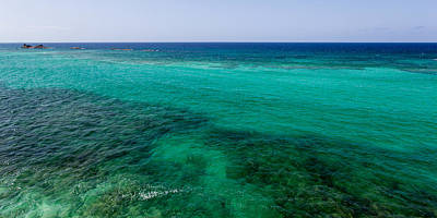 Beautiful Scenery Photograph - Turks Turquoise by Chad Dutson