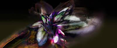 Unrest Digital Art - Turmoil by Brian Jensen Felde