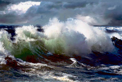 Painting - Turmoil by Neil Kinsey Fagan