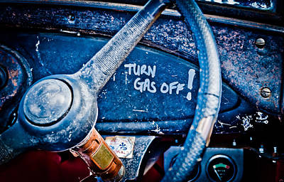 Turn Gas Off Art Print by Phil 'motography' Clark