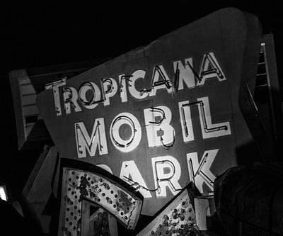 Tropicana Las Vegas Photograph - Turn The Rv In Here Honey by Angus Hooper Iii