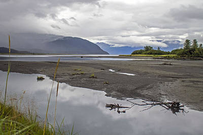 Photograph - Turnagain Arm Clouds by Saya Studios