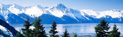 Ak Photograph - Turnagain Arm Girdwood Ak Usa by Panoramic Images
