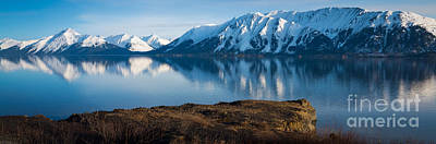 Alaska Photograph - Turnagain Arm Mountain Range by Inge Johnsson