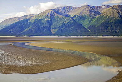 Photograph - Turnagain Arm Reflection by Saya Studios