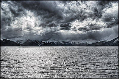 Photograph - Turnagain Arm Storm by Erika Fawcett