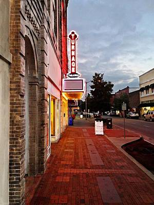 Turnage Theater Grand Opening Art Print