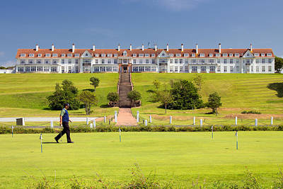 Photograph - Turnberry Hotel by Fiona Messenger