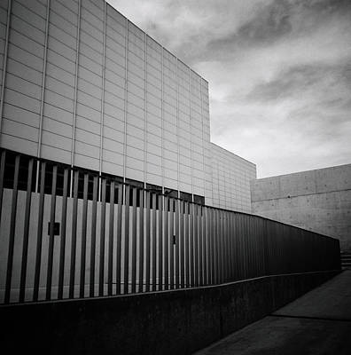 Futurism Architecture Wall Art - Photograph - Geometry Of The New by Shaun Higson